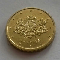 10 евроцентов, Латвия 2014 г.