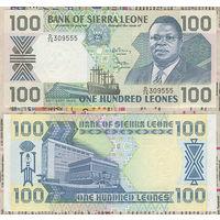 """Распродажа коллекции. Сьерра-Леоне. 100 леоне 1990 года (Р-18c - 1988-1991 """"President Momoh"""" Issue)"""