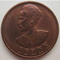 Эфиопия 5 центов 1944 г.