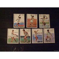 Никарагуа. 1987 Спорт Тенис. 1987 г.