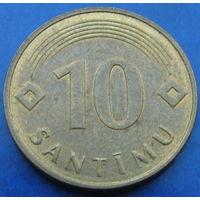 Латвия 10 сантимов 1992 (2-74)