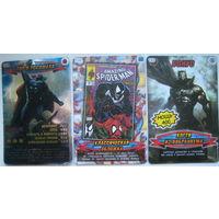 Карточка Человек-паук. Герои и злодеи (Spider-Man). Цена за 1 шт. (a2)