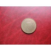 2 цента 2001 года Нидерланды
