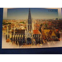 Франция Дижон открытка Собор 2001
