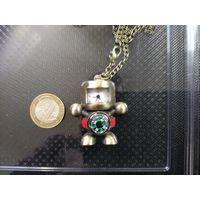 Старинный компас робот , часы , кварц , экслюзив