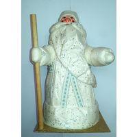 Дед Мороз из СССР, ватный подставочный, новый, в коробке,муха не сидела