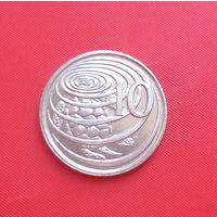 26-14 Каймановы острова, 10 центов 2008 г.