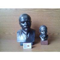 Два бюста В.И.Ленина. Ск.Завалов (возможен обмен)