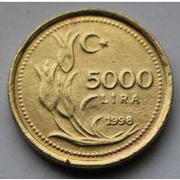 Турция, 5.000 лир 1998 г.