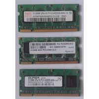 Оперативная память для ноутбука 512 MB