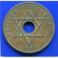 Британская Западная Африка 1 пенни 1952 KN