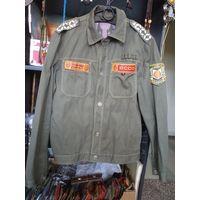Симпатичная стройотрядовская куртка студента БТИ, 1983 г. Размер 48, рост 3-4.