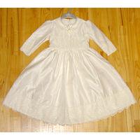 Карнавальный костюм бальное платье 5-6 лет