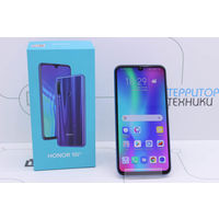 "Синий 6.21"" Honor 10 Lite 3GB/32GB (1080x2340 IPS). Гарантия."