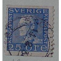 Король Густав V. Швеция. Дата выпуска:1925-09-30