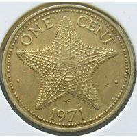 Багамские острова 1 цент 1971 КМ#16 (494)