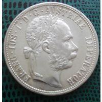 1 флорин, Австро-Венгрия,1879