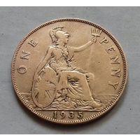 1 пенни, Великобритания 1935 г. Георг V