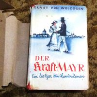 "Раритет 1940 год: Ernst von Wolzogen ""Der Kraft-Mayr"" (печать готическим шрифтом)"
