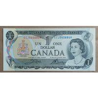1 доллар 1973 года - Канада - UNC
