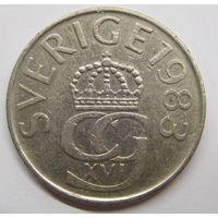 Швеция 5 крон 1983 г