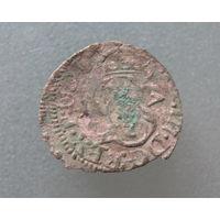 Шеляг 1617, Сигизмунд III Ваза, Вильно.С 1 руб без МЦ.