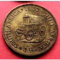 04-04 ЮАР, 1 цент 1962 г.
