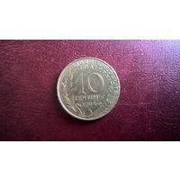 Франция 10 сантимов, 1995