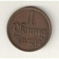 Данциг 1 пфенниг 1937