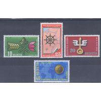 [1960] Швейцария 1954. События,даты. СЕРИЯ MNH