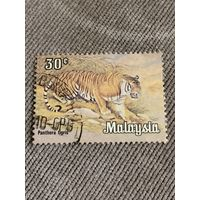 Малайзия. Тигр. Марка из серии