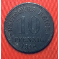 24-29 Германия, 10 пфеннингов  1918 г.