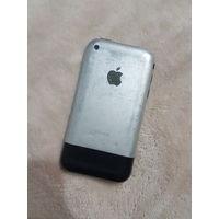 Apple Iphone 2g 8gb. Раритет для ценителей Apple. Отличный телефон! Полностью рабочий. Все оригинальное, ничего не разбиралось и не менялось.  Отлично держит батарею - 2-4 дня. Минимум 2 дня при актив
