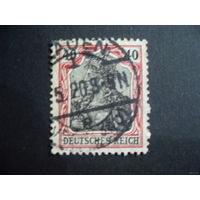 DR 1905/1913 Рейх. Германия. Mi.90 (mi.2,8 euro)