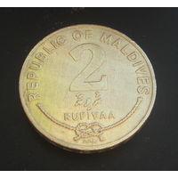 Мальдивы 2 руфии. 2005г. 1