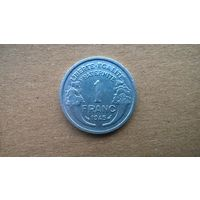 Франция 1 франк, 1945