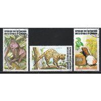 Исчезающие животные Камерун 1983 год серия из 3-х марок