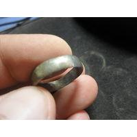 Старое серебрянное кольцо редкая проба 76