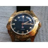 Часы Командирские Восток 2414а позолота.Обслужены.заказ МО СССР
