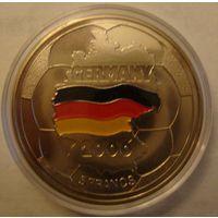 Конго, Демократическая республика 5 франков 2002 год - ЧМ по футболу