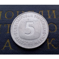 5 марок 1990 (F) Германия ФРГ #01