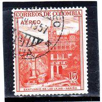 Колумбия.Ми-673.Храм Лас Ладжас, Нариньо Серия: Продвижение туризма, мотивы страны. 1954.