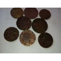 Монеты разных стран до 1949г.