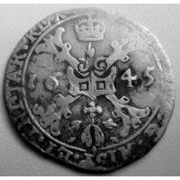 Талер патагон 1645