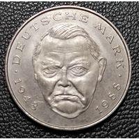 2 марки 1989 Людвиг Эрхард J Гамбург