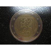 Латвия 2 евро 2015 Видзиме