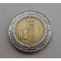 1 песо, Мексика 1993 г.