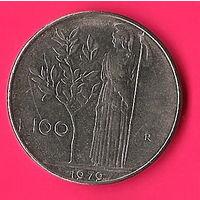 47-35 Италия, 100 лир 1979 г.