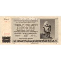 Протекторат Богемия и Моравия, 5000 крон, 1944 г. (Specimen)