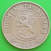 10 марок 1952 ФИНЛЯНДИЯ
